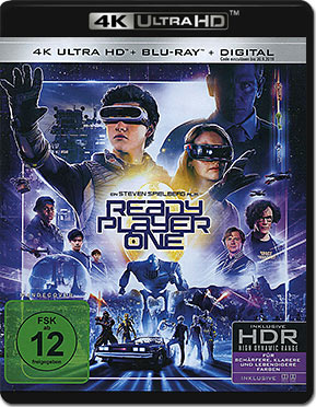 Ready Player One Blu-ray UHD (2 Discs)