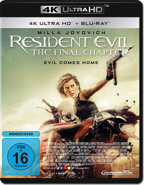 Resident Evil 6: The Final Chapter Blu-ray UHD (2 Discs)