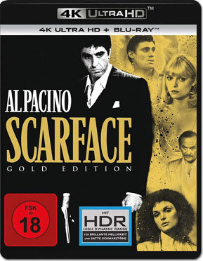 Scarface - Gold Edition Blu-ray UHD (2 Discs)