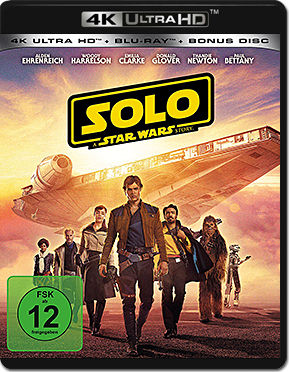 Solo: A Star Wars Story Blu-ray UHD (3 Discs)