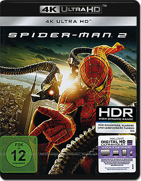 Spider-Man 2 Blu-ray UHD
