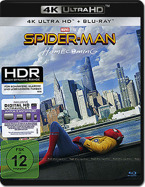 Spider-Man: Homecoming Blu-ray UHD (2 Discs)