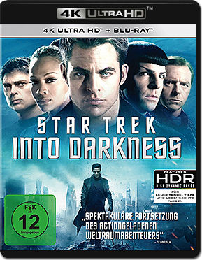 Star Trek Into Darkness Blu-ray UHD (2 Discs)