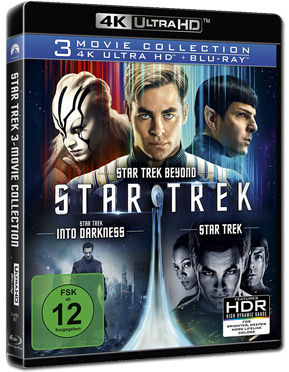Star Trek - 3 Movie Collection Blu-ray UHD (6 Discs)