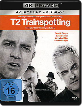 T2 Trainspotting Blu-ray UHD (2 Discs)