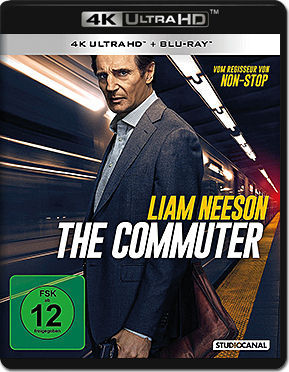 The Commuter Blu-ray UHD (2 Discs)