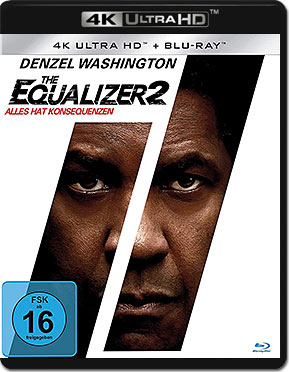 The Equalizer 2 Blu-ray UHD (2 Discs)