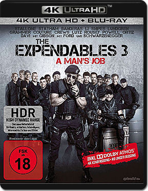 The Expendables 3 Blu-ray UHD (2 Discs)