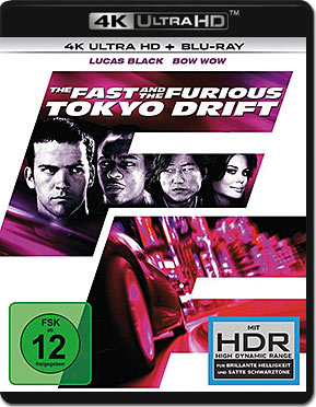 The Fast and the Furious 3: Tokyo Drift Blu-ray UHD (2 Discs)