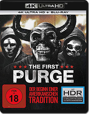 The First Purge Blu-ray UHD (2 Discs)