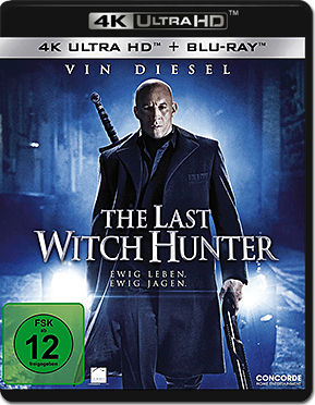 The Last Witch Hunter Blu-ray UHD (2 Discs)