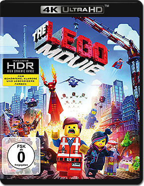 The LEGO Movie Blu-ray UHD (2 Discs)