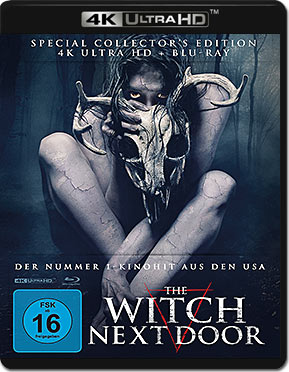 The Witch Next Door - Mediabook Edition Blu-ray UHD (2 Discs)
