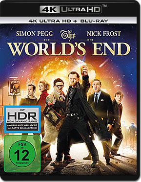 The World's End Blu-ray UHD (2 Discs)