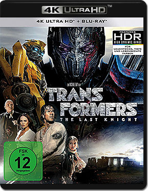 Transformers 5: The Last Knight Blu-ray UHD (3 Discs)