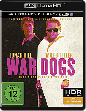War Dogs Blu-ray UHD (2 Discs)