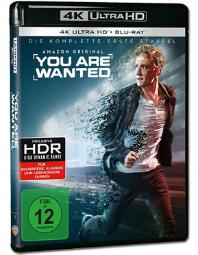 You Are Wanted: Staffel 1 Blu-ray UHD (4 Discs)