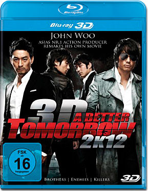 A Better Tomorrow 2K12 Blu-ray 3D