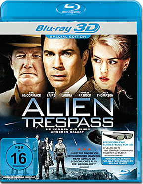 Alien Trespass Blu-ray 3D