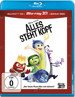 Alles steht Kopf - Limited Edition Blu-ray 3D (3 Discs)