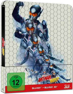 Ant-Man and the Wasp - Steelbook Edition Blu-ray 3D (2 Discs)