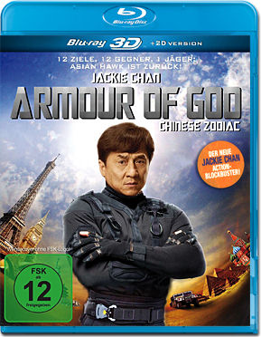 Armour of God: Chinese Zodiac Blu-ray 3D