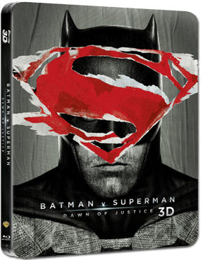 Batman v Superman: Dawn of Justice - Ultimate Steelbook Edition Blu-ray 3D