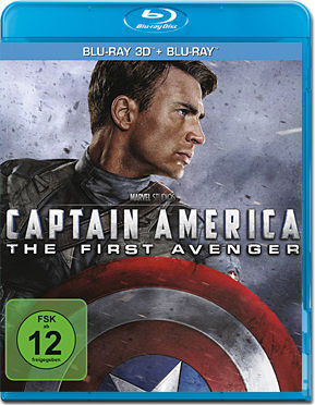 Captain America: The First Avenger Blu-ray 3D