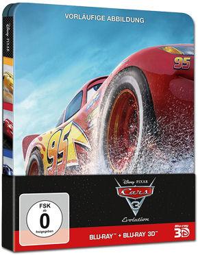 Cars 3 - Steelbook Edition Blu-ray 3D (3 Discs)