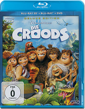 Die Croods Blu-ray 3D
