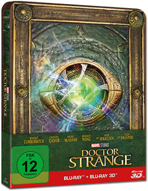 Doctor Strange - Steelbook Edition Blu-ray 3D (2 Discs)
