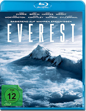 Everest Blu-ray 3D (2 Discs)