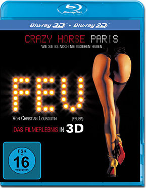 Feu: Crazy Horse Paris Blu-ray 3D