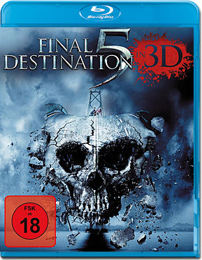 Final Destination 5 Blu-ray 3D