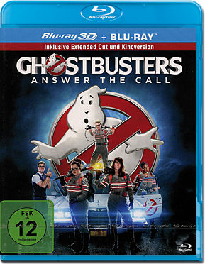 Ghostbusters (2016) - Extended Edition Blu-ray 3D (2 Discs)