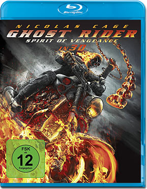 Ghost Rider 2: Spirit of Vengeance Blu-ray 3D