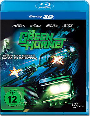 The Green Hornet Blu-ray 3D