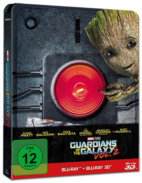 Guardians of the Galaxy Vol. 2 - Steelbook Edition Blu-ray 3D (2 Discs)