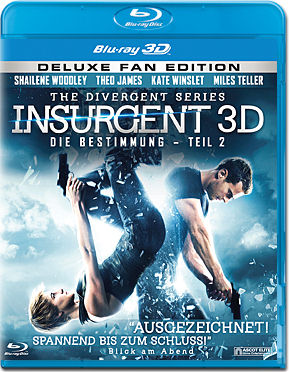 Die Bestimmung: Insurgent - Fan Edition Blu-ray 3D