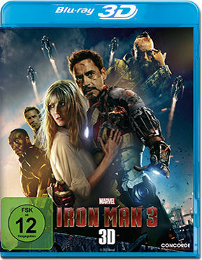 Iron Man 3 Blu-ray 3D