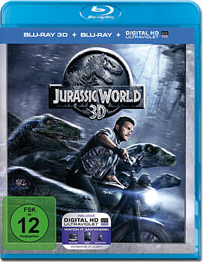 Jurassic World Blu-ray 3D (2 Discs)
