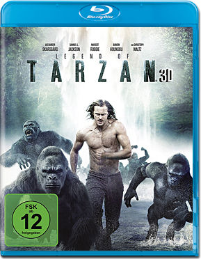 Legend of Tarzan Blu-ray 3D