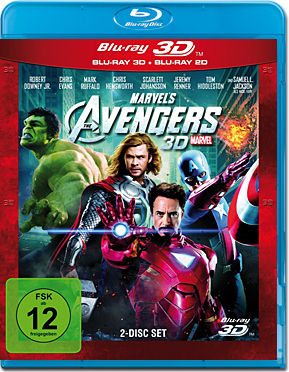 Marvel's The Avengers Blu-ray 3D (2 Discs)