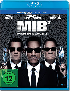 Men in Black 3 - MIB 3 Blu-ray 3D