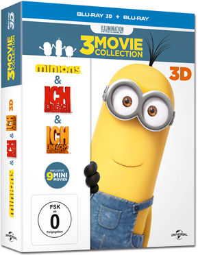 Minions - 3-Movie Collection Blu-ray 3D (6 Discs)