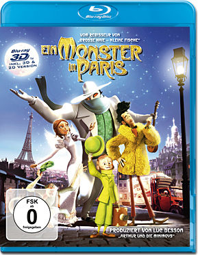 Ein Monster in Paris Blu-ray 3D