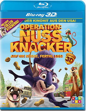 Operation Nussknacker Blu-ray 3D