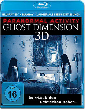 Paranormal Activity: The Ghost Dimension Blu-ray 3D (2 Discs)