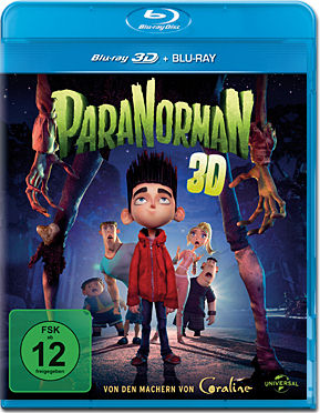 ParaNorman Blu-ray 3D