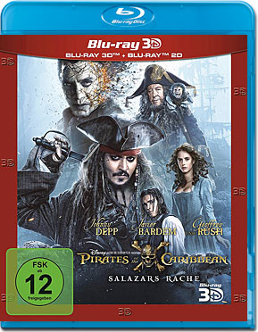 Pirates of the Caribbean 5: Salazars Rache Blu-ray 3D (2 Discs)